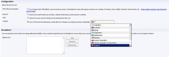Dùng stealthy để vào WordPress và Facebook 2012